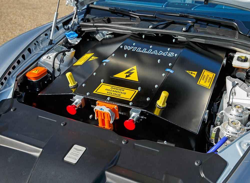 Электропривод для электромобиля разработан фирмой Williams Advanced Engineering