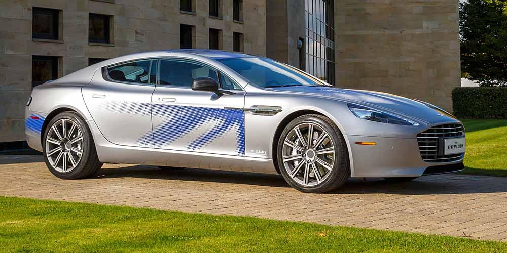 Электроприводная Aston Martin Rapide