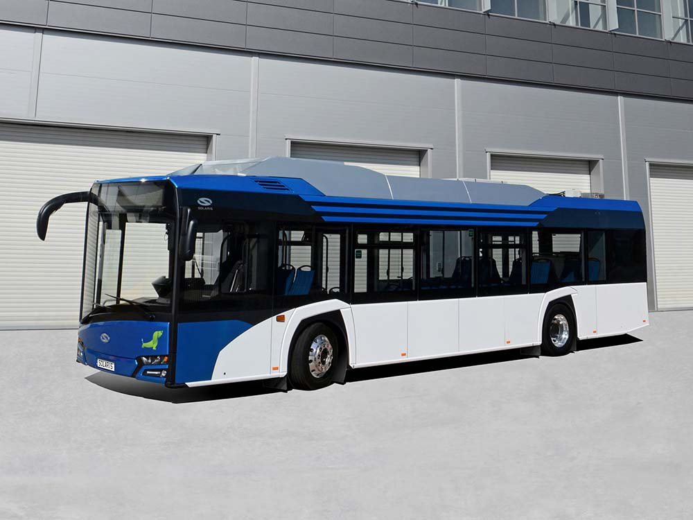 New Urbino 12 Electric для города