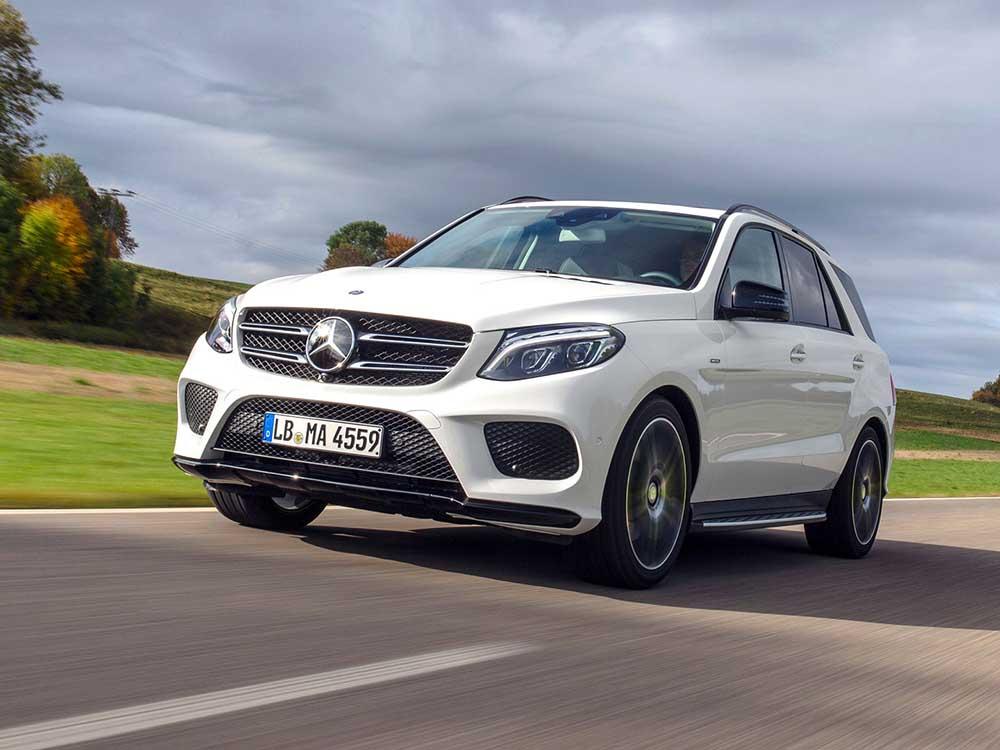 Новый полноприводный кроссовер от Mercedes-Benz