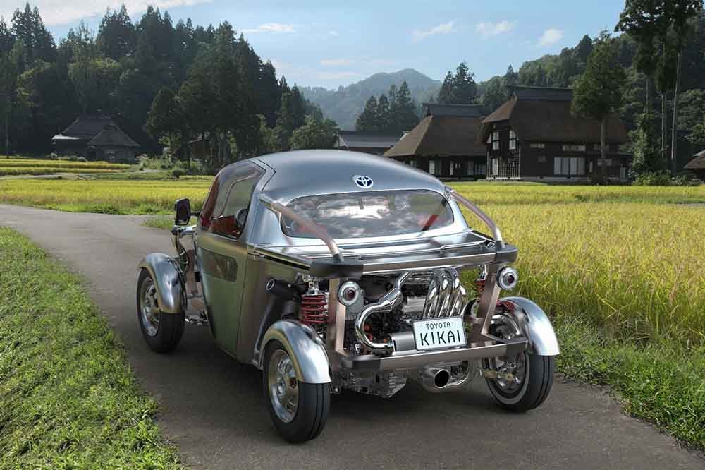 Облегчённый Toyota Kikai