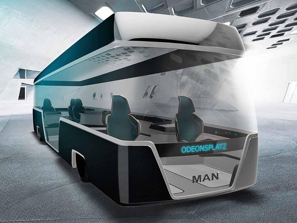 Общественный транспорт в недалёком будущем