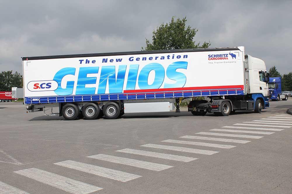 Новое поколение полуприцепа S.CS Genios