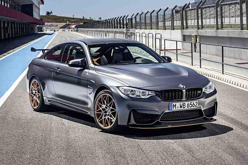 Поразительный BMW M4 GTS