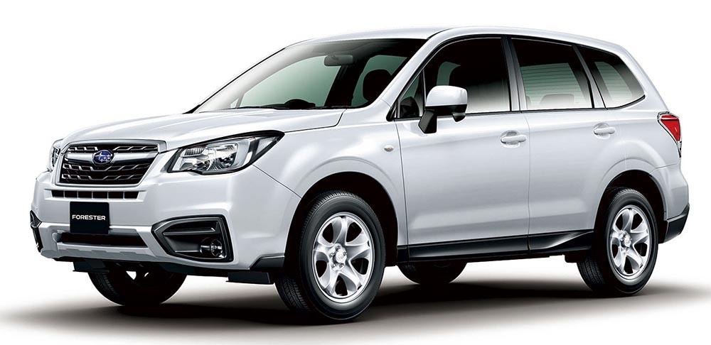 Subaru Forester снова обновился