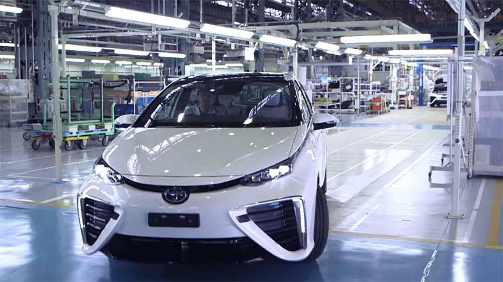 Японская компания Тойота снова мировой лидер производства