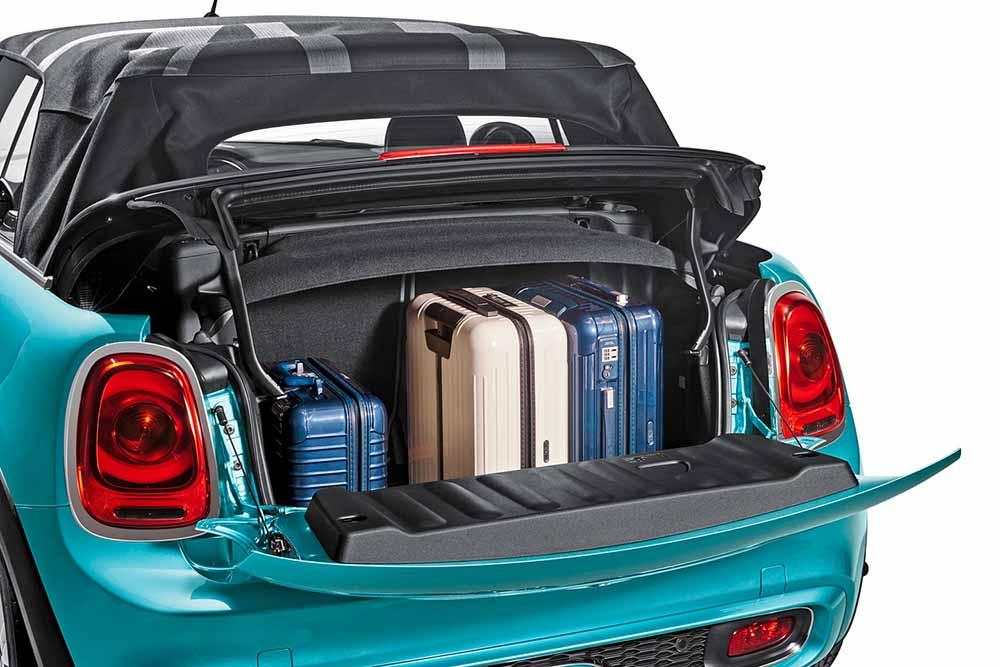 Увеличилась вместимость багажного отделения