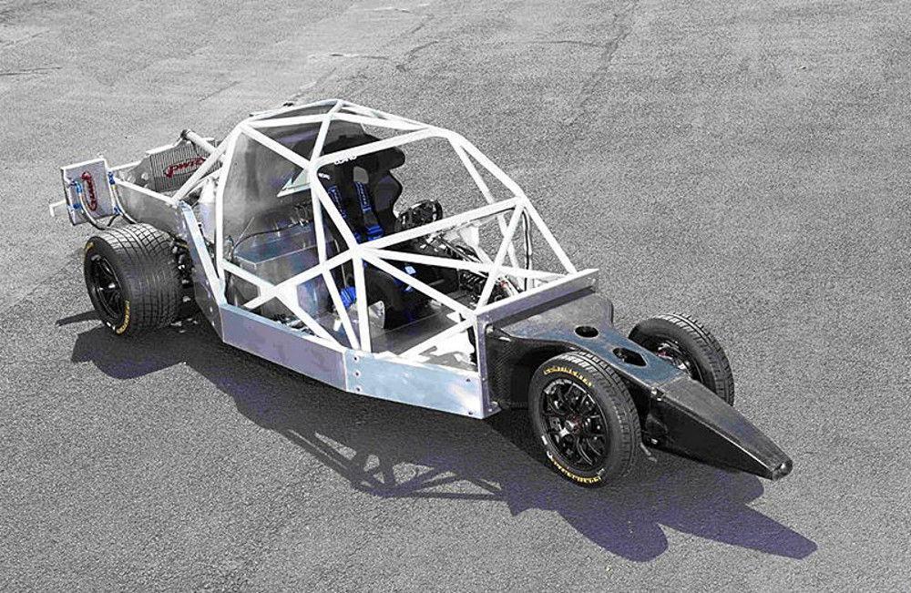 Аэродинамичная форма позволяет уменьшить сопротивление воздуха
