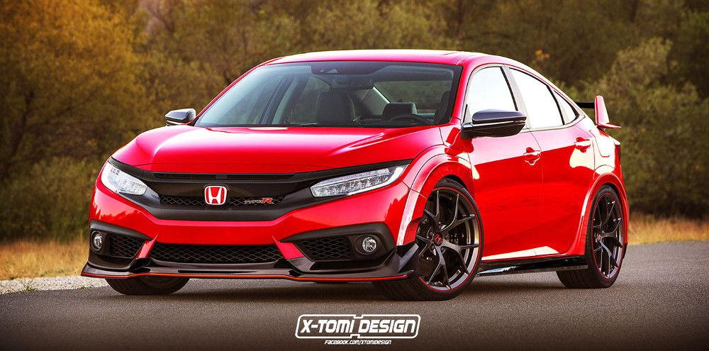 Так будет выглядеть новое поколение Civic