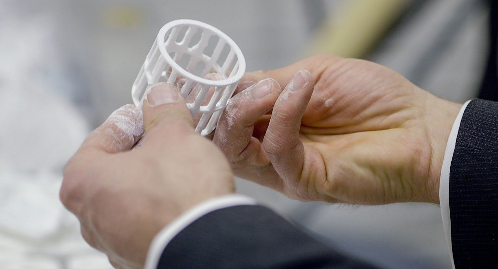 Шведская фирма стала одной из тех, кто печатает детали для машин на принтере