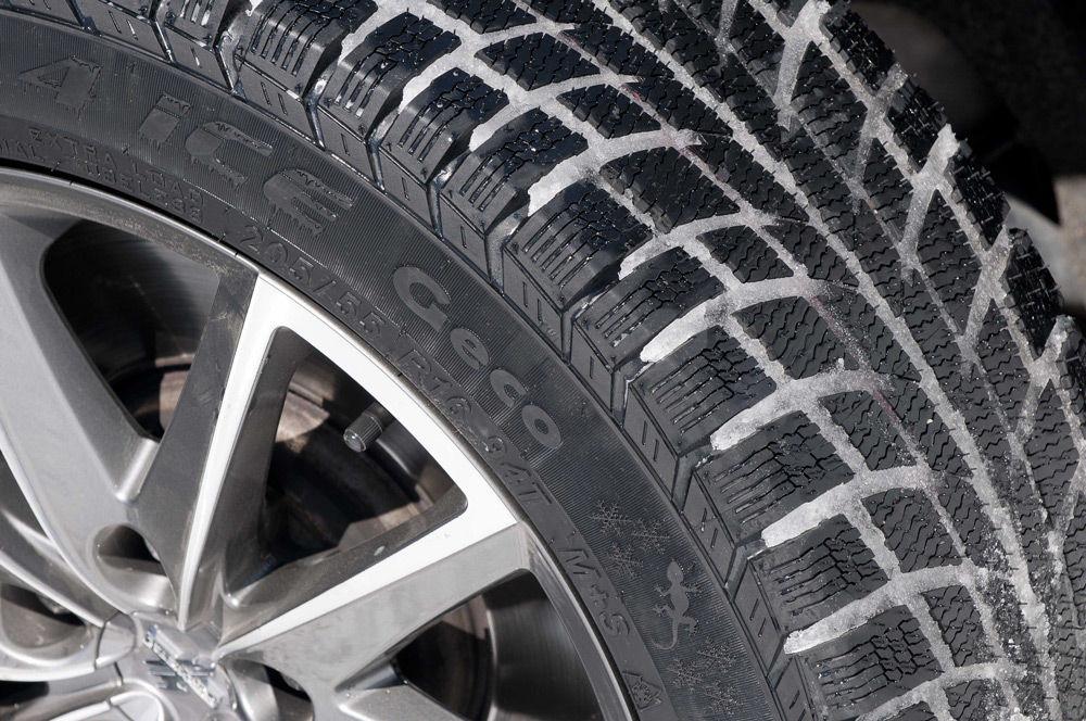 Шины на колёсных дисках