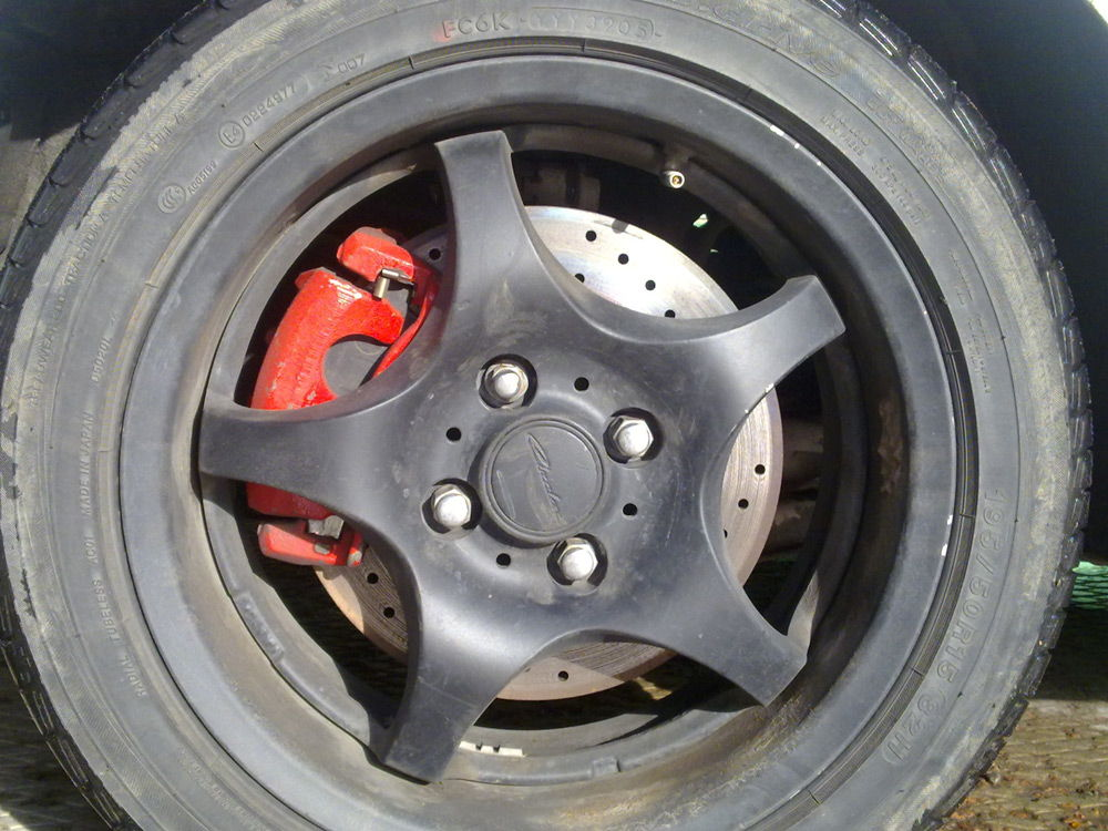 Фото №35 - греются тормозные диски ВАЗ 2110