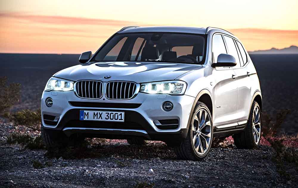 BMW X3 пользуется повышенным спросом
