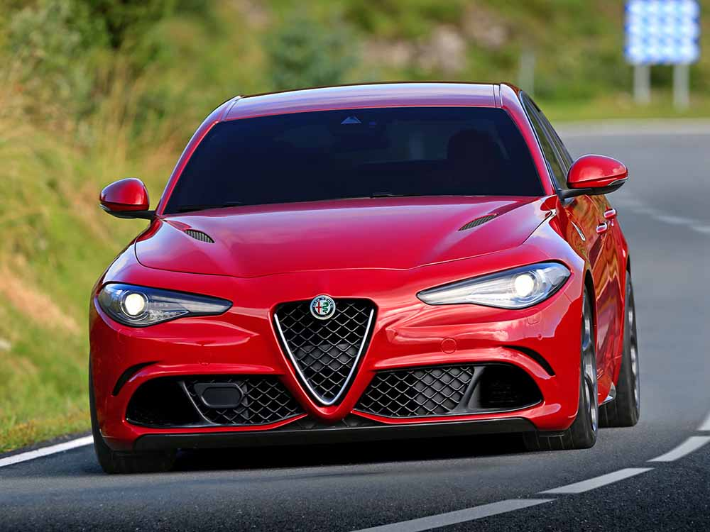 Эффектная Alfa Romeo Giulia