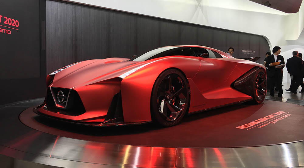 Концепт-кар Vision Gran Turismo в Токио