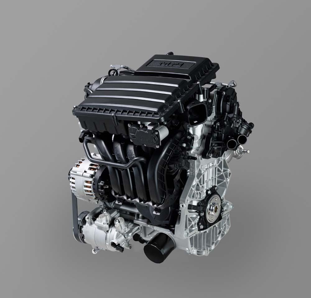Новый мотор мощнее предыдущего