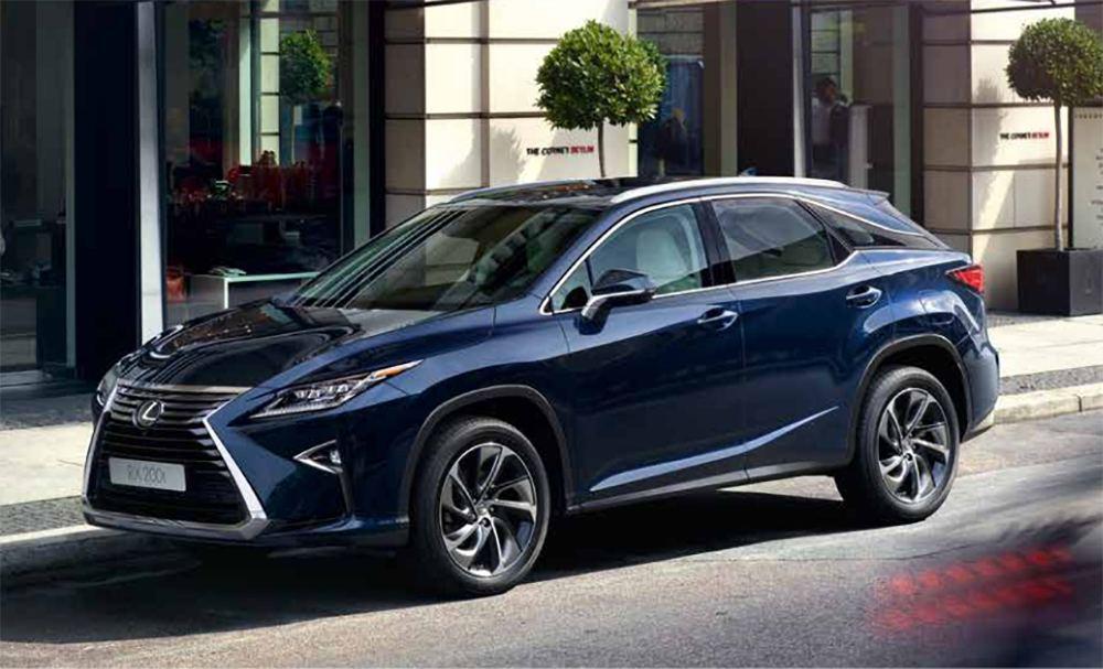 Полноприводный Lexus RX 200t AWD будет предлагаться по эксклюзивной цене от 2,875 млн рублей