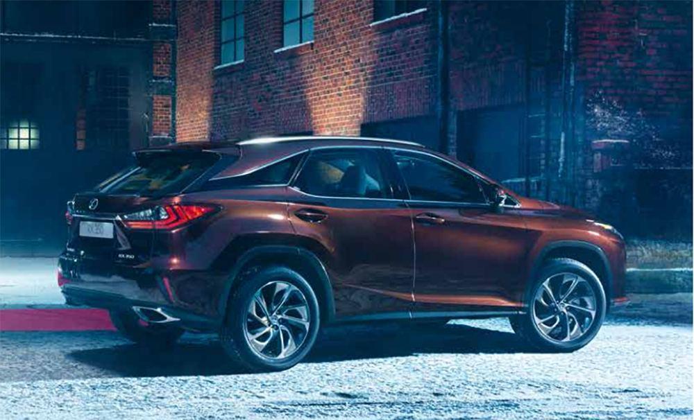 За RX 350 AWD нужно будет выложить 2,8 млн рублей