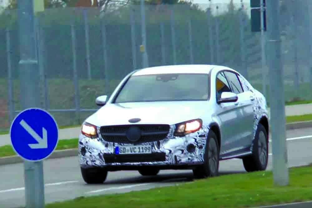 Ранее автомобиль был замечен во время проведения дорожных испытаний