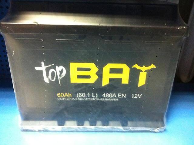 Аккумулятор Top Bat