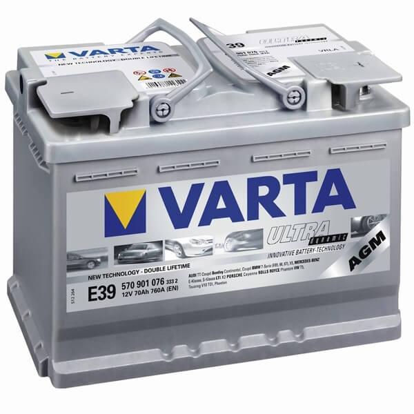 Аккумулятор Varta AGM
