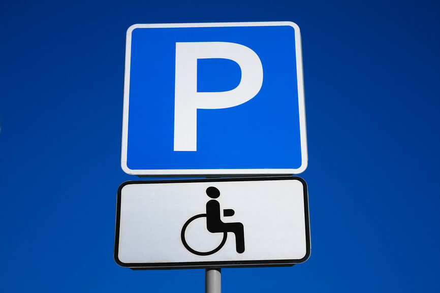 служба знаком для инвалидов