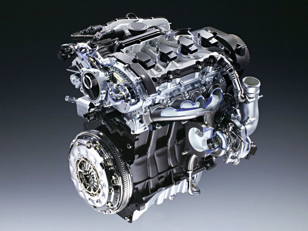 Модель двигателя автомбиля