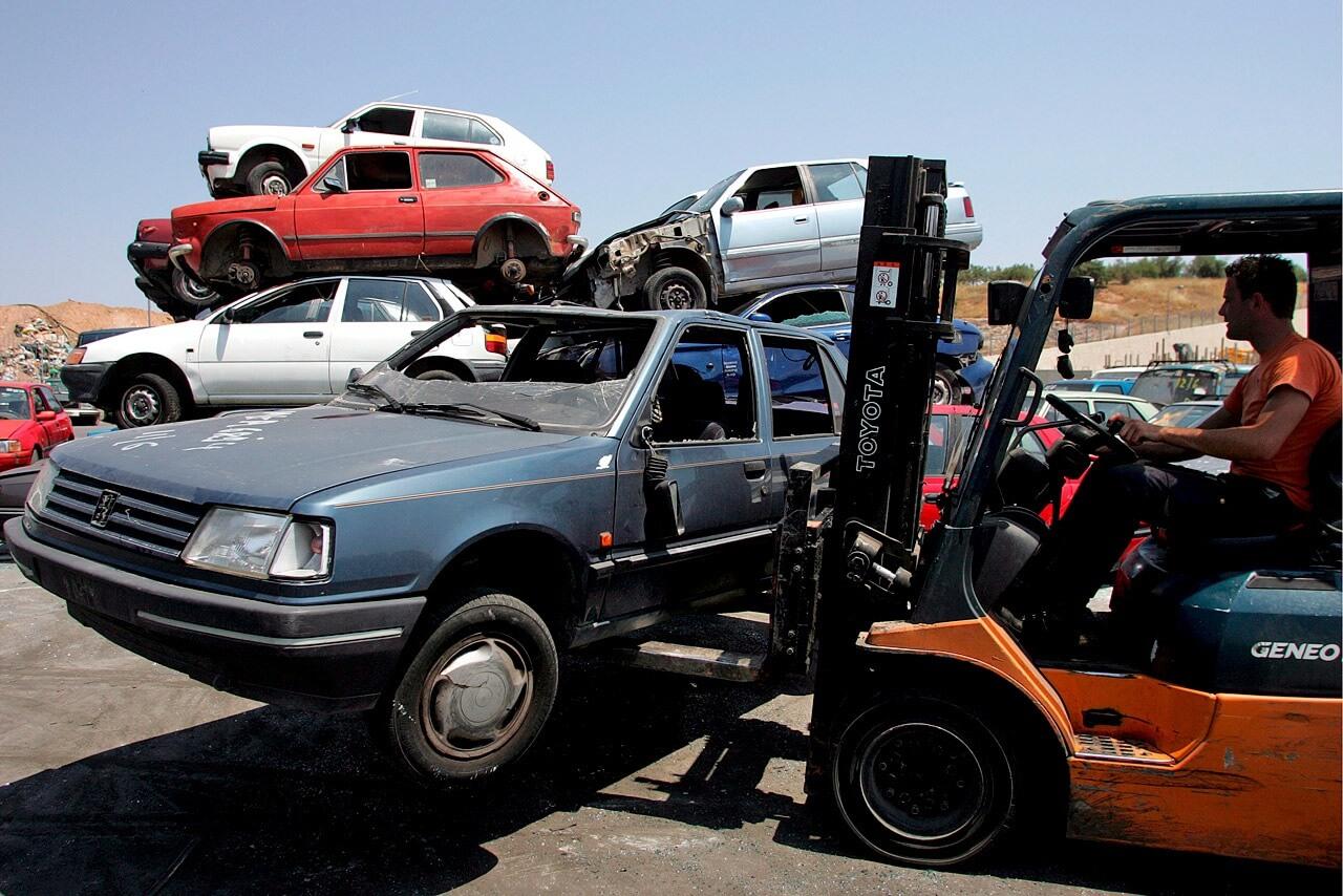 Отправка автомобиля в утилизацию