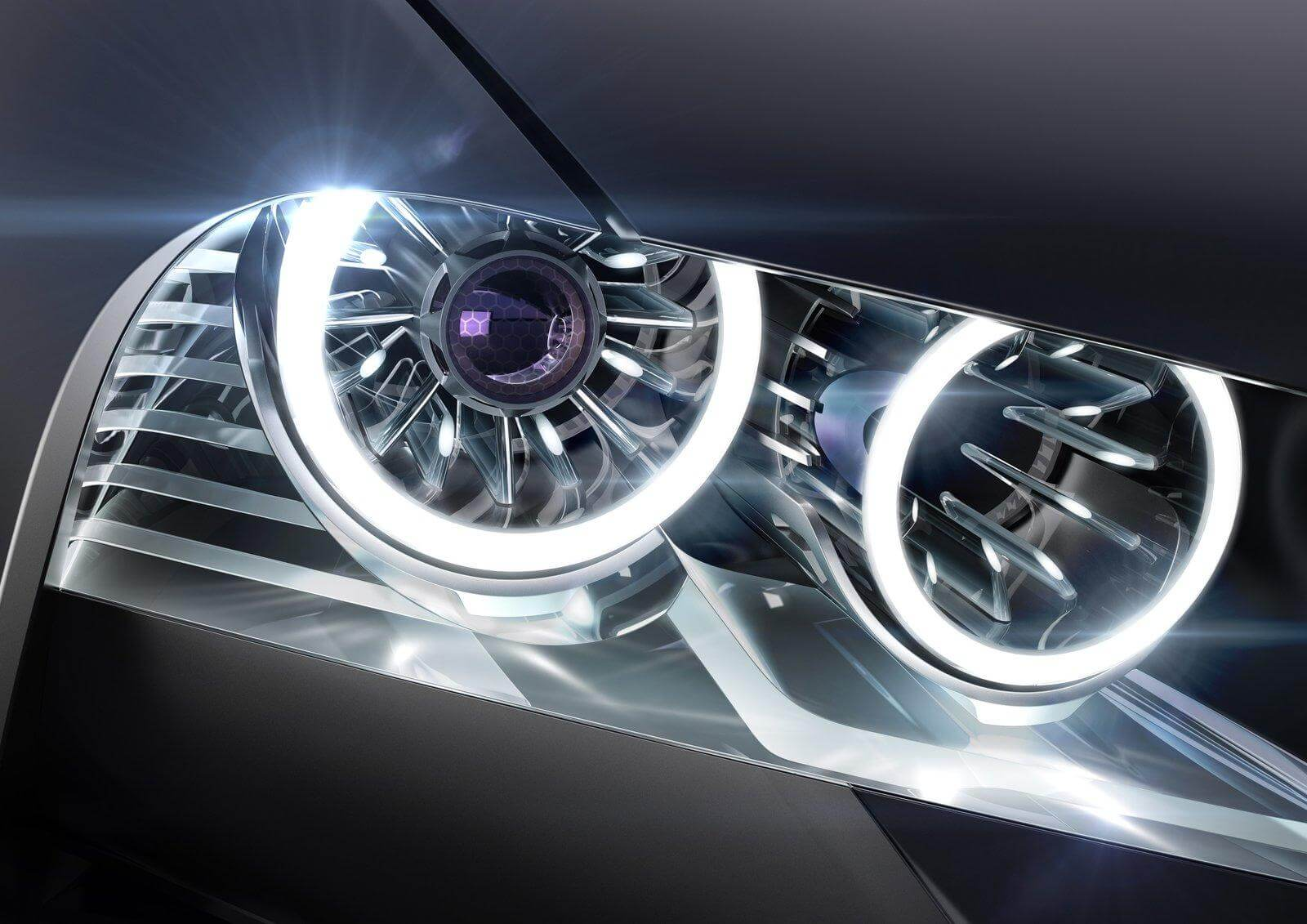 Передняя оптика автомобиля