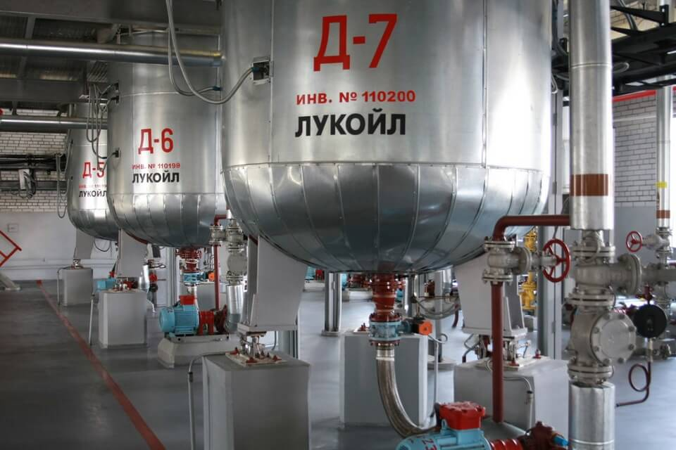 Производство масла Лукойл