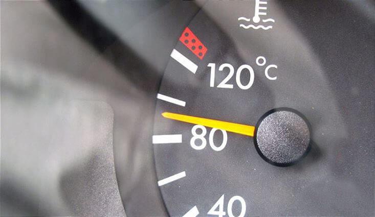 Температура прогрева двигателя