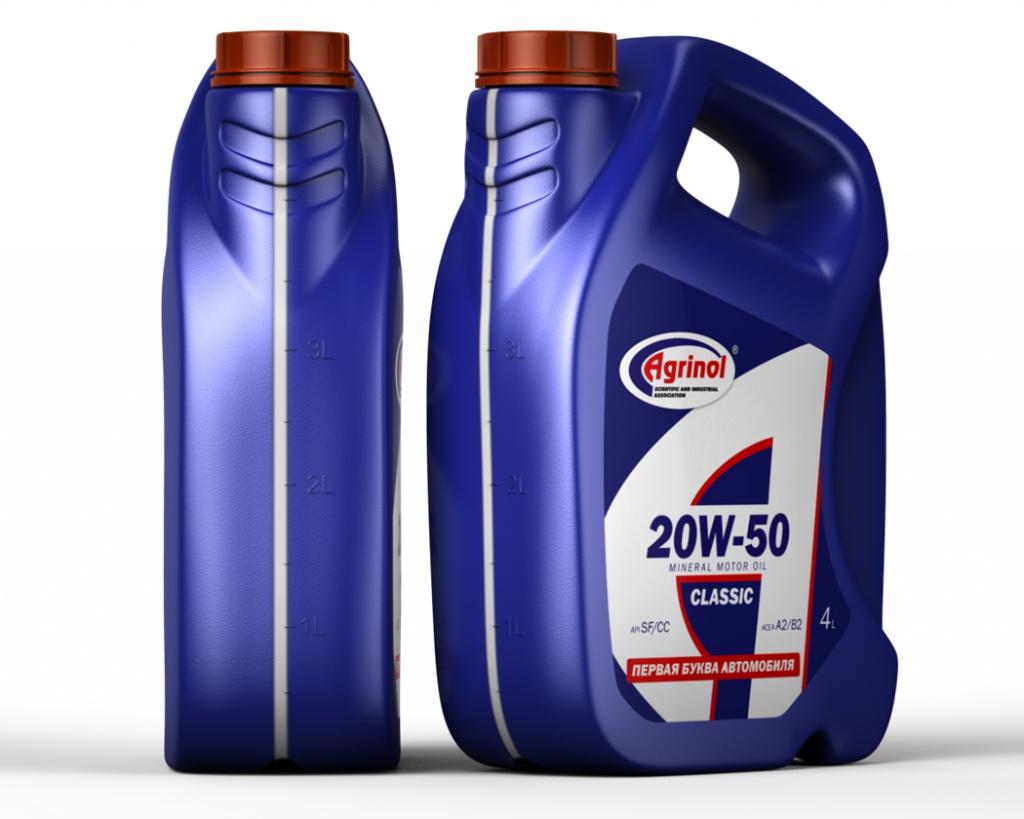 Упаковка моторного масла