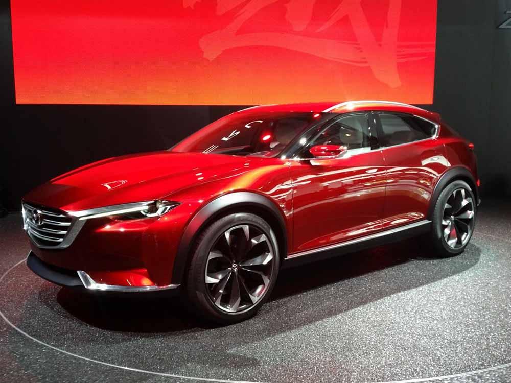 Концепт Mazda Koeru был представлен во Франкфурте-на-Майне