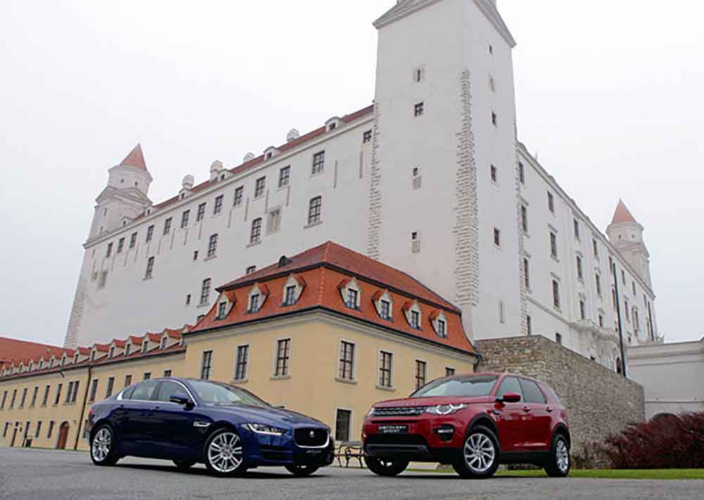 На этот раз авто JLR будут выпускаться в Словацкой республике