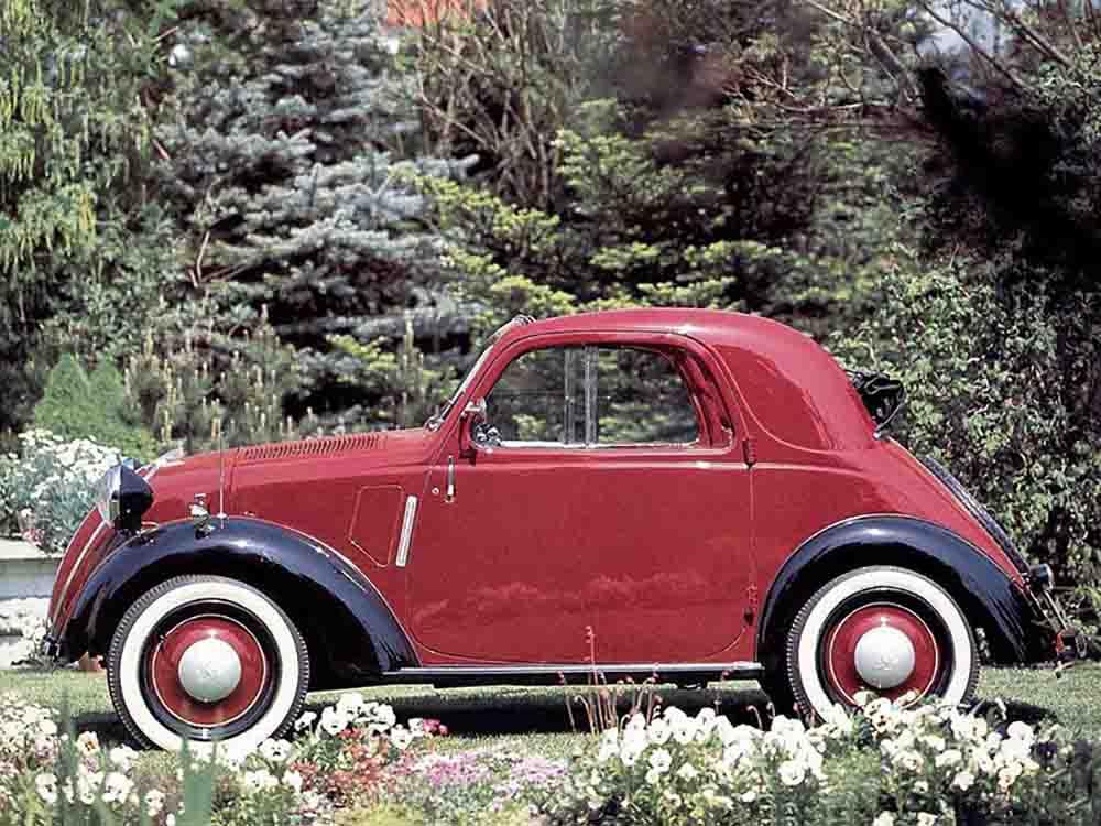 Fiat 500 Topolino 1936 года