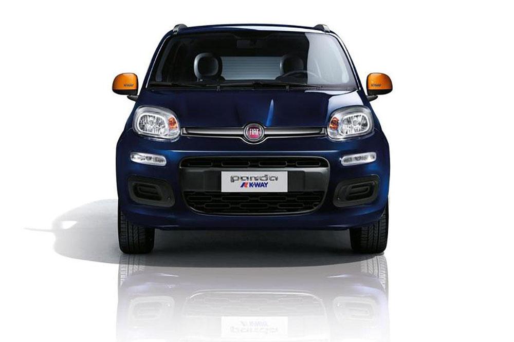 Специальная серия Fiat Panda K-Way