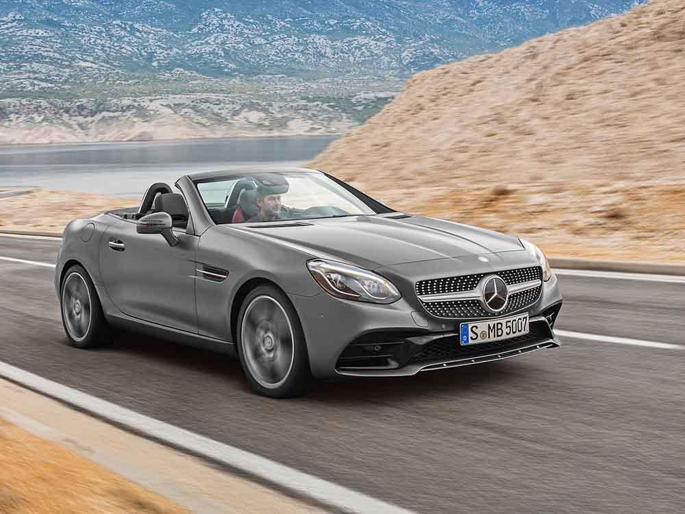 Обновлённый Mercedes-Benz SLC