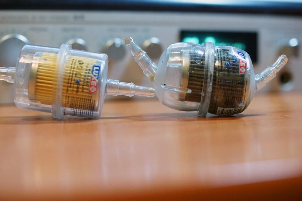 Прозрачный топливный фильтр