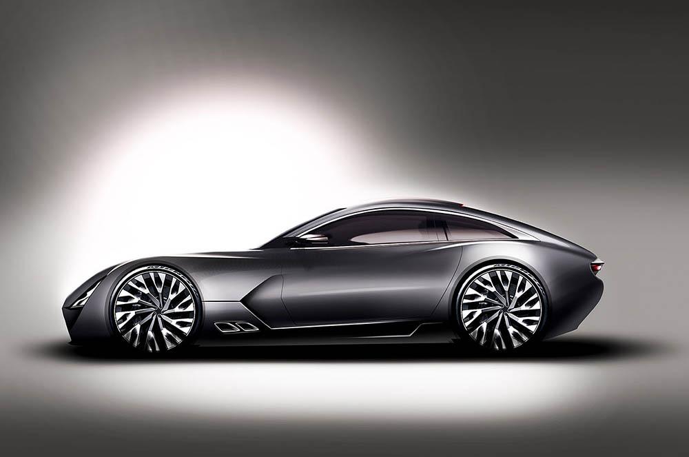 Тизер нового купе TVR V8 T37