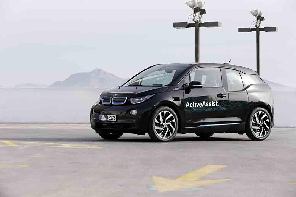 BMW i3 с технологией Active Assist