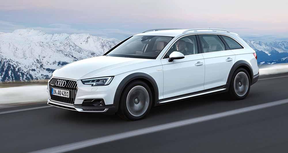 Дизайн второго поколения Audi A4 Allroad изменился незначительно