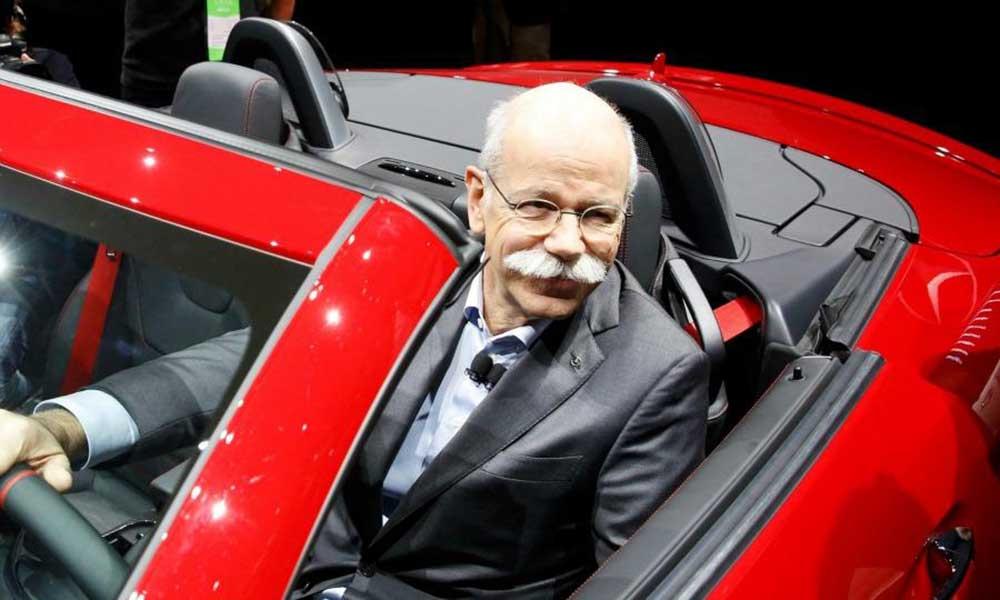 Глава концерна Daimler Дитер Цетше отмечает в целом неплохой спрос в Российской Федерации на машины Mercedes-Benz