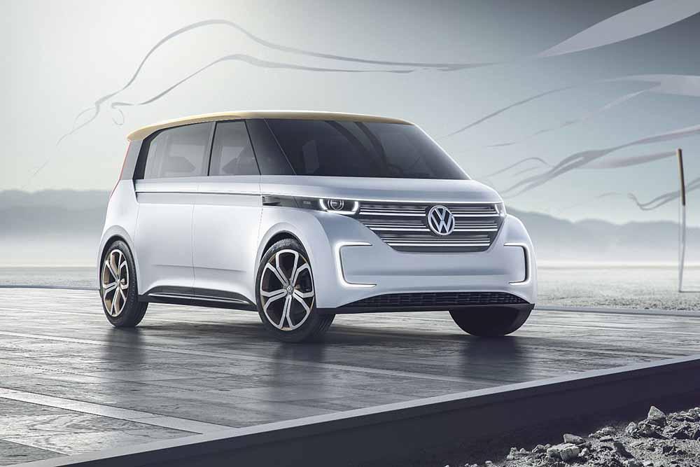 Концепт микроавтобуса на электроприводе VW Budd-e