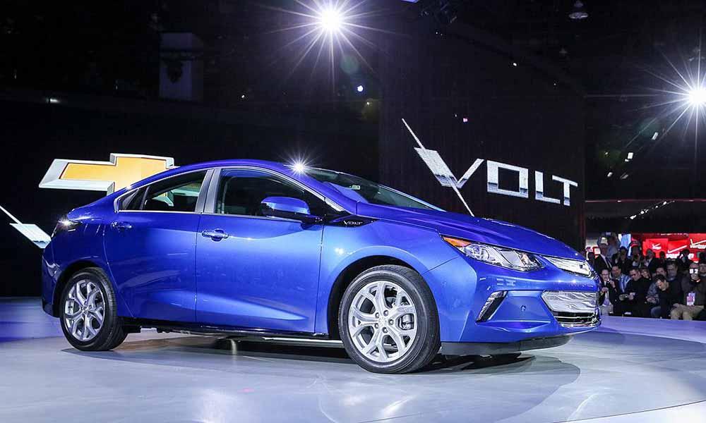Новейший Chevrolet Volt сбросил примерно 110 кг по сравнению со своим предшественником