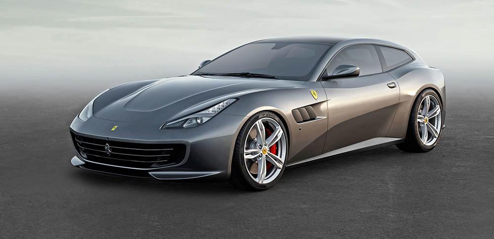 Новая Ferrari GTC4Lusso