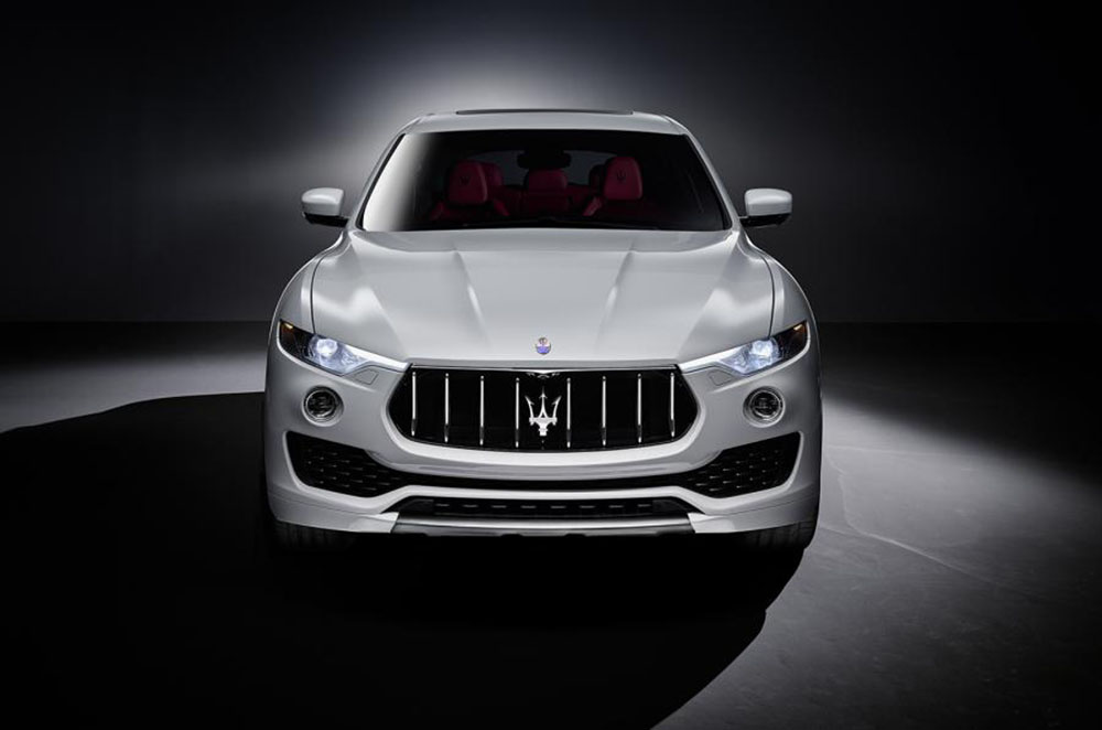 Новинка смело интерпретирует привычную решётку радиатора Maserati