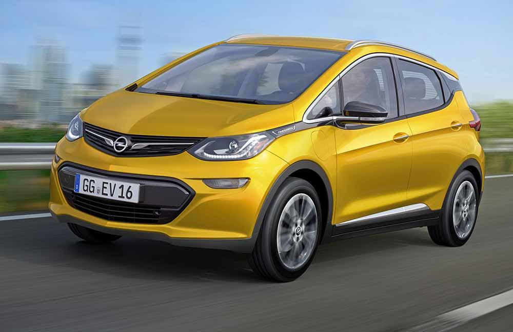 Новое поколение Opel Ampera
