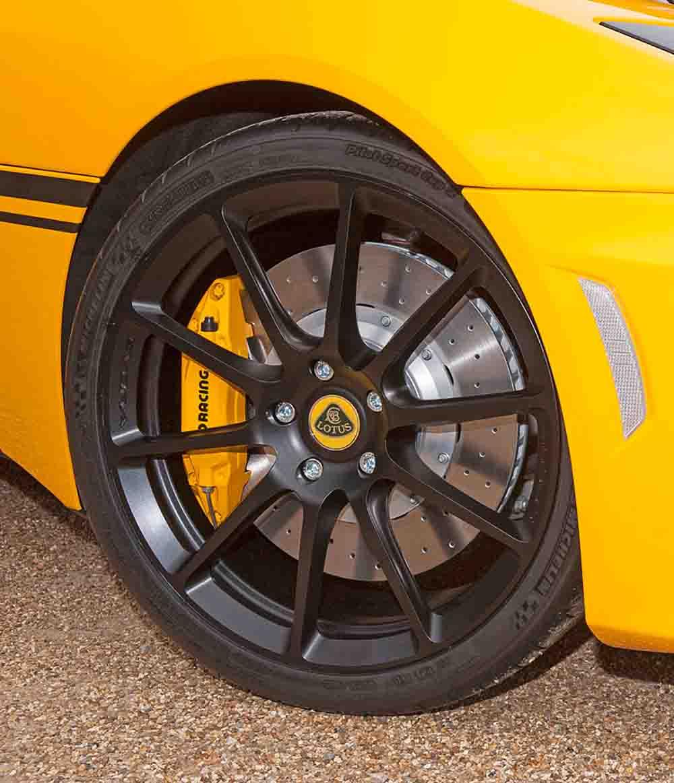 Новые колёса создают неплохую динамику