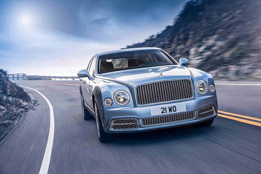 Обновлённый Bentley Mulsanne