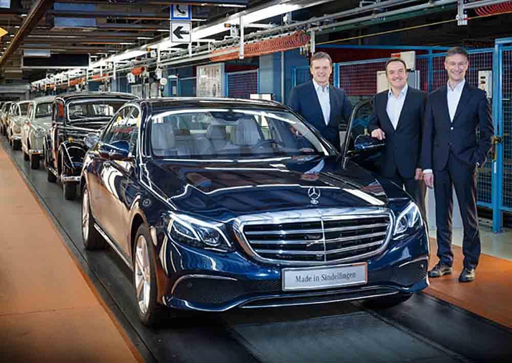 Запущено производство нового поколения Mercedes-Benz E